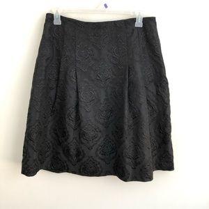 Talbots jacquard skirt